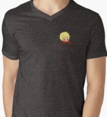 Pocket Arthur Men's V-Neck T-Shirt