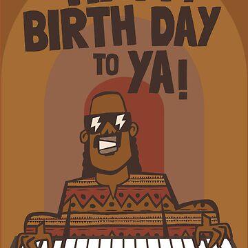 Stevie Wonderful birthday by Socialfabrik