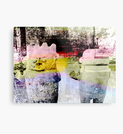Two in the Forest Metal Print