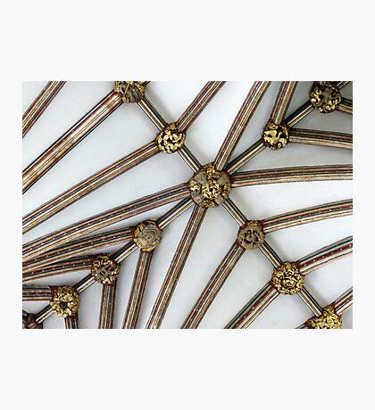 Vaulted Ceiling, Exeter Cathedral, Devon Fotodruck