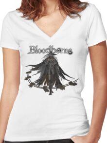 Bloodborne - Hunter Beast Cutter Women's Fitted V-Neck T-Shirt