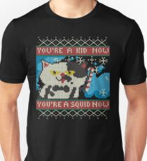 Knitted Ugly Sweater Splatoon Judd the Cat from Nintendo T-Shirt