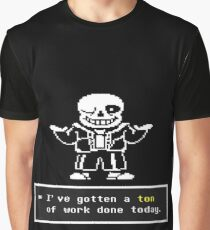 Undertale - Sans Skeleton - Undertale T shirt Graphic T-Shirt