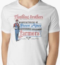 Plumbing Brothers Men's V-Neck T-Shirt