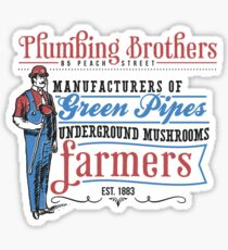 Plumbing Brothers Sticker