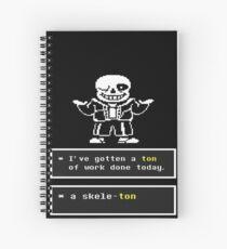 Undertale - Sans Skelett - Undertale T-Shirt Spiralblock