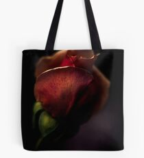 a rose getting ready for bed Tote Bag