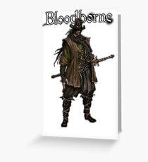 Bloodborne - Samurai Hunter Greeting Card