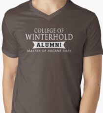 Winterhold Alumni Men's V-Neck T-Shirt