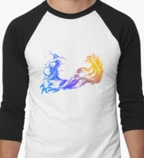 Final Fantasy 10 logo X Men's Baseball ¾ T-Shirt