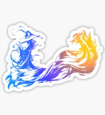 Final Fantasy 10 logo X Sticker