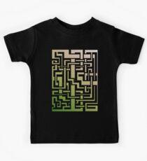 Abstract Nature Labirint Kids Clothes