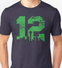 Seattle City of 12 Unisex T-Shirt