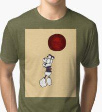 THE CONSTRUCTUS CORPORATION THE ZIGGURAT Tri-blend T-Shirt