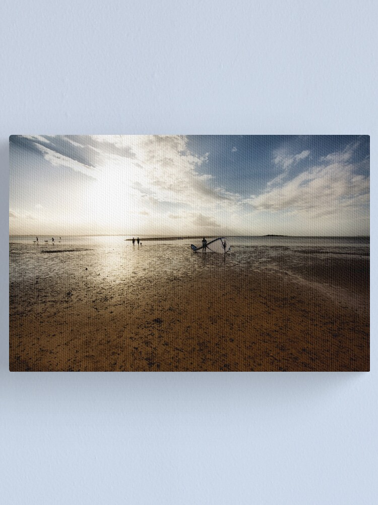 Alternate view of End of Day Canvas Print