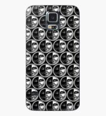 Funda/vinilo para Samsung Galaxy Casa de blanco y negro