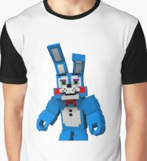 Five Nights At Freddy's - Minecraft Bonny Graphic T-Shirt