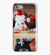 'So it's ALWAYS the men's job, wrapping the gifts?' iPhone Case/Skin
