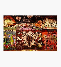 London Graffiti - Graffiti Tunnel Photographic Print