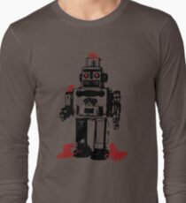 Robots and Nature Long Sleeve T-Shirt