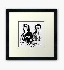 The Doctor & River Song  Framed Print