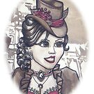 Steampunk Self by LCWaterworth