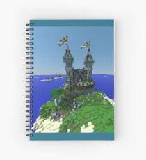 Minecraft Castle Spiral Notebook
