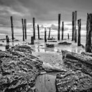 Port Willunga - Monochrome by AllshotsImaging