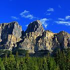 Castle Mountain by Charles Kosina