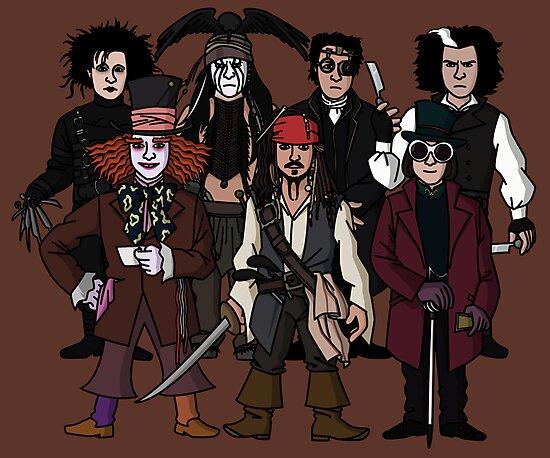 Johnny Depps by jasesa