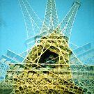 Eiffel Tower is Falling Down - Lomo by chylng