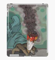 Smoking Alone iPad Case/Skin