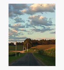 Rural Ride Photographic Print