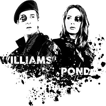 Amy Pond & Rory Williams by whimsicallymad