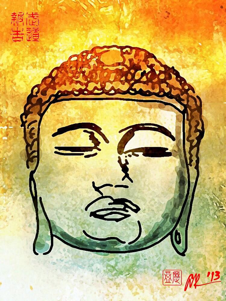 Color Buddha by Alex Rodriguez