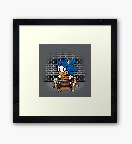 Speed Addict Framed Print