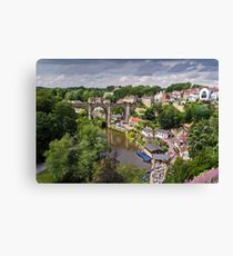 Viaduct over The Nidd Canvas Print