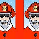 Fireman Santa by elledeegee