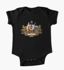 australian coat of arms One Piece - Short Sleeve