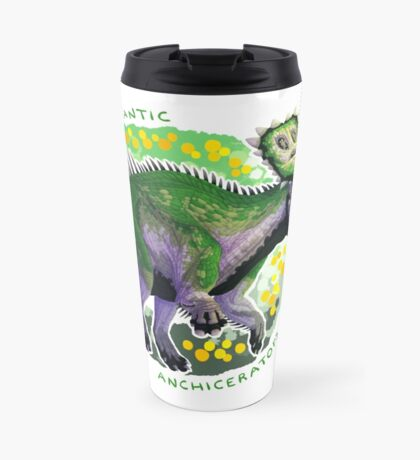 Aromantic Anchiceratops (with text)  Travel Mug
