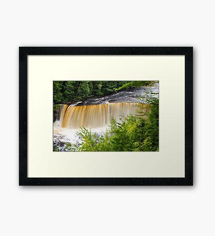 Upper Tahquamenon Falls Framed Print
