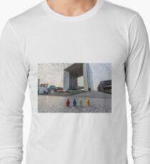 Urban Exploration (#2) - Marble Cube T-Shirt