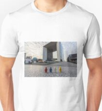 Urban Exploration (#2) - Marble Cube Unisex T-Shirt