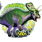 Anchiceratops (without text)  by R.A.  Faller