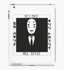 No Face all dressed up iPad Case/Skin