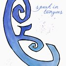 speak in tongues. #clary's runes by J-something