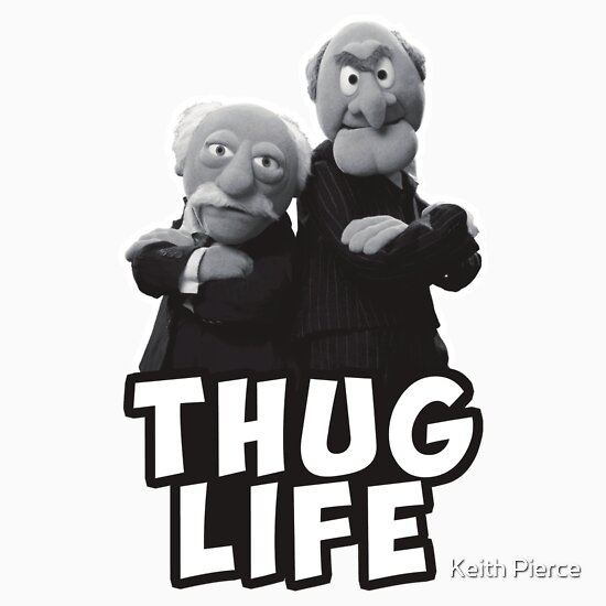 """50 Best Statler And Waldorf Images On Pinterest: Muppets"""" Stickers By"""