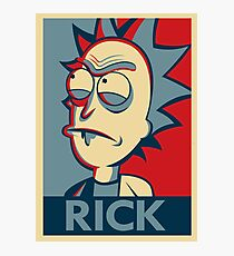Tiny Rick Photographic Print