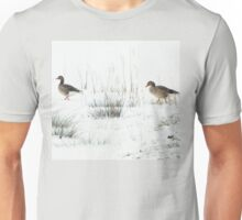 Into the white, wide world Unisex T-Shirt