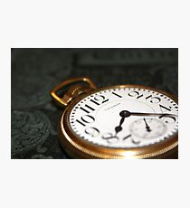 Old Watch Photographic Print